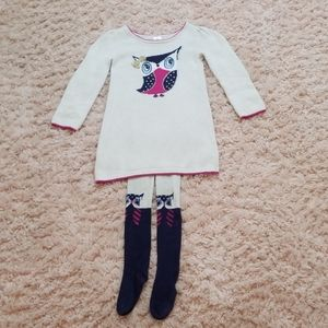 Gymboree Owl Set